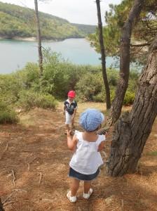 Ege ve Nehir Hamsilos'da...