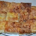 Peynirli börek (Su böreği tadında)