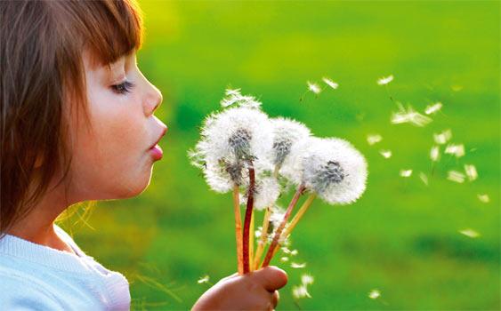 Çocuklar için bahar alerjisi kapıda