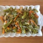 Zeytinyağlı ıspanak kökü